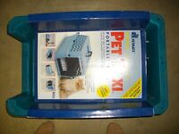 CAT/SMALL DOG  CARRY CAGE (NEVER USED)