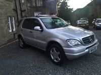 MERCEDES ML270 CDI 7 SEATER AMG AUTOMATIC DIESEL 4x4 FULLY LOADED PX