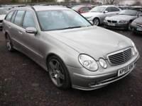 2005 55 MERCEDES-BENZ E CLASS 3.0 E280 CDI AVANTGARDE 5D AUTO 187 BHP DIESEL