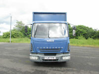 2007 Iveco Eurocargo 7.5TON CURTAIN SIDE EXTRA LONG, LOW MILEAGE, TAIL LIFT