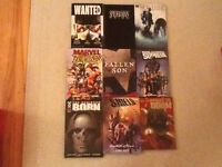 Marvel, DC and others hardcovers