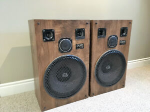 """Audio Sphere Research Speakers with 15"""" woofers"""
