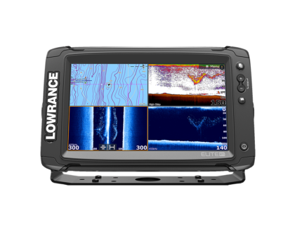 NEW!!!  Lowrance Elite-9 Ti 9in Touch TotalScan Combo with Maps
