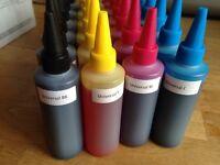 Refillable ink bottles