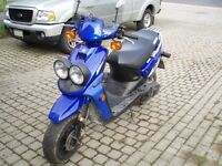 YAMAHA BSR SPORT SCOOTER...excellent CONDITION