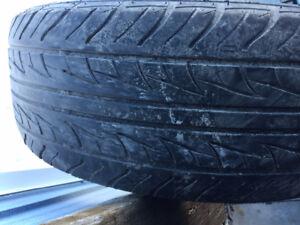 4x pneus d'été 225/60R16 98t Uniroyal Tiger Paw