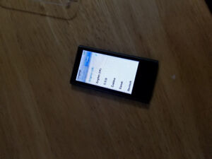 iPod Nano 7th generation slate grey, very good condition. $150