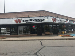 "The Works ""Gourmet Burger Bistro"" - Pickering"
