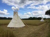 Glamping holiday in Worcestershire - Tipi