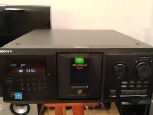 Sony 300-disc MegaStorage CD Changer CDP-CX355
