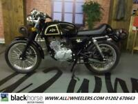 AJS Cadwell 125 motorcycle classic retro cafe racer 125 cc motorbike