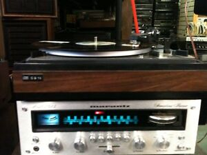 VINTAGE-->MARANTZ RECEIVER-->DUAL TURNTABLE-->Speakers