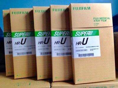 Fuji Green Panoramic Extraoral Dental X Ray Film - 6 X 12 In - Box Of 100 Films