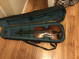 4/4 acoustic/Electric violin