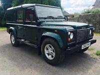 2002 Land Rover 110 County Station Wagon, utility.
