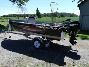 Awesome fishing boat package