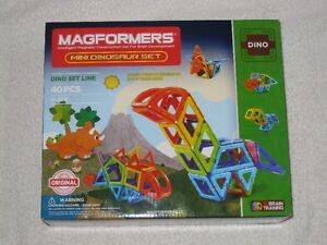 MAGFORMERS (40PC) - MAGNETIC SET - DINO SET LINE -*LAST ONE*
