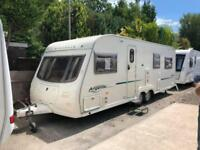 2006 Avondale Argente 655 4 Berth caravan FIXED BED, VGC, Awning, Bargain !