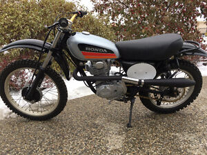 Vintage Honda XL350 Fresh Restoration XR Enduro