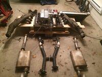 Mustang 79-93 exhaust complete flowmaster