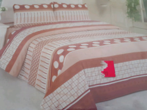BED SHEET (king), new & in the original package, wrinkle free