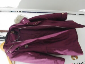 Dynamite brand maroon fashion winter jacket, sz small