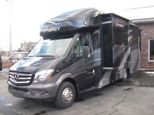 IN STOCK - NEW 25' Synergy SP24/Mercedes Sprinter Chassis