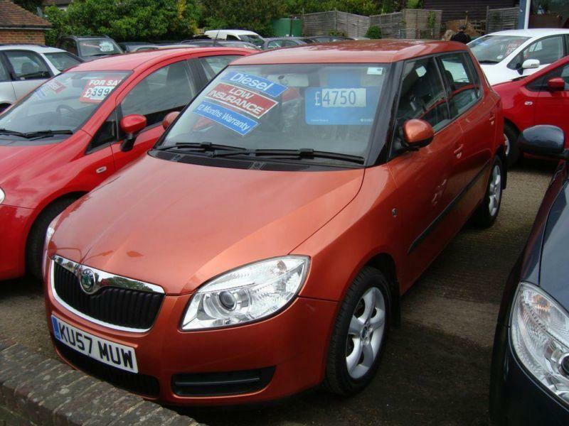 2007 skoda fabia 1 4 tdi pd 80 2 in meopham kent gumtree. Black Bedroom Furniture Sets. Home Design Ideas