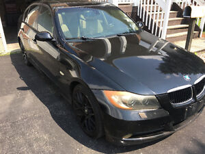 2007 BMW 328xi AWD black Sedan Automotic E-Tested
