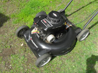 "Murray 20"" 4.5 hp side discharge lawn mower"