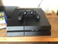Sony PS4 with controller and games 500gb