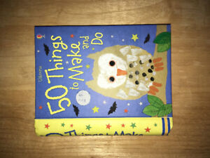 """""""50 things to make and do"""" kids craft book"""