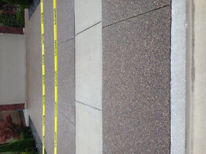 Concrete Sealing;stamped, coloured, exposed aggregate! Windsor Region Ontario image 6