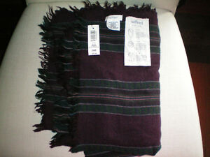 New with Tags Aritzia Mixed Stripes Blanket Scarf