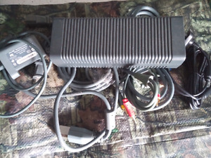 Xbox 360 power/video/ 60gig hard drive and more