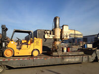 SCRAP MACHINERY HEAVY TRUCKS TRAILERS FORKLIFTS WANTED $$