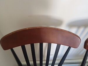 Beautiful tan suede chairs for sale! Peterborough Peterborough Area image 3