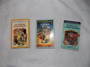 3 titres -series dungeons and dragons West Island Greater Montréal image 1