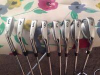 Titleist CB 710 S300 Gold golf irons 3 - PW