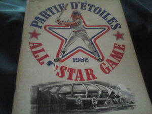 1982 All Star Game Book