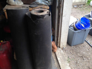 Two rolls of felt roofing paper $40