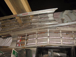 66/67/68 CHEVELLE FRONT GRILLS