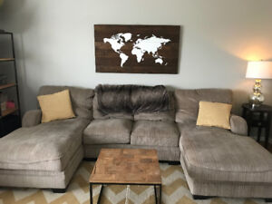 Sectional couch less than 1 yr old