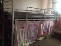 Girls bunk bed with storage place from Next