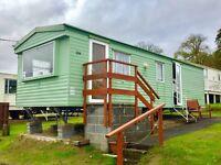 Static caravan for sale at Wemyss Bay caravan park near Saltcoats Ayr Largs