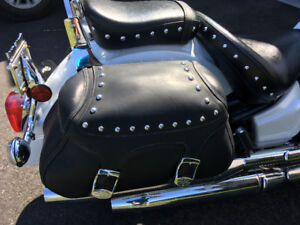 Sacoche Yamaha Road stars et v-stard silverado