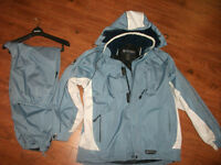 Girls Wetskins 3 in 1 Coat with Wind Pants