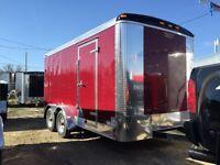 7x14 Enclosed Cargo Trailers