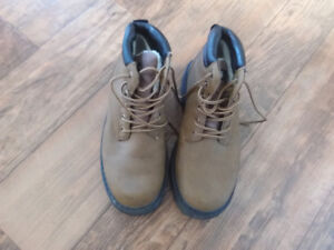 Steel Toe Work Boots Mens size 8