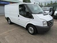 2011 Ford Transit 2.2 TDCi 115 bhp Swb Workshop Racking Fitters Van White